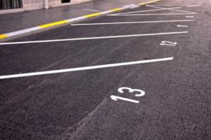 road markings Skirlaugh
