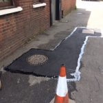 Pothole Repairs fix in Reddish